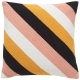 Diagonal Stripe Durrie Cushion