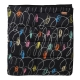 Chalk Board Black Bedspread Single