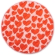 Big Hearted Quilted Baby Play Mat