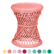 Tahitian Rattan Stool Custom Create