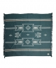 Forest Song Travel Throw | Sea Moss / Nat |  170*155