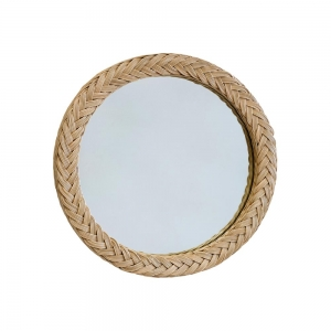 Plaited Mirror Natural