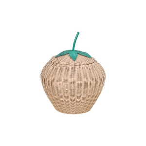Children's Storage Tutti Fruiti Basket - Strawberry Natural
